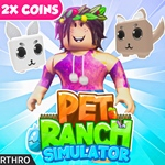 [?2X COINS!] ? Pet Ranch Simulator - игра ROBLOX