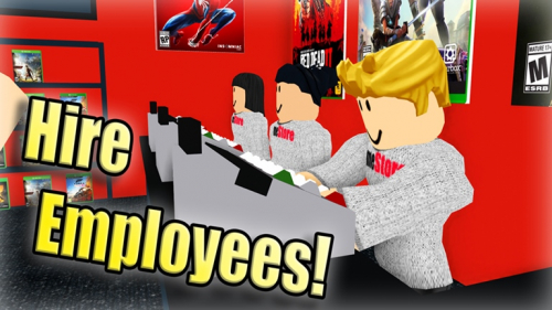 Game Store Tycoon ? *37,000,000* - игра ROBLOX