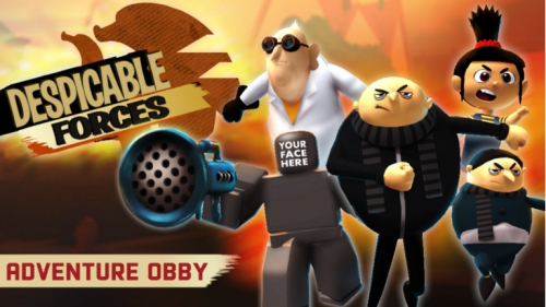 [New Stages] Minions Obby: Despicable Forces! - игра ROBLOX