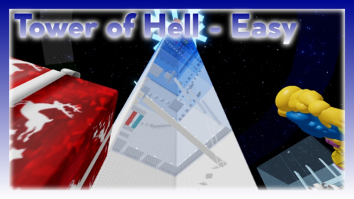[BLUE GIFT] Tower of Hell - Easy - игра ROBLOX