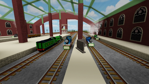 Thomas and Friends: Journey Beyond S o d o r - игра ROBLOX