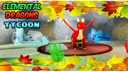 Elemental Dragons Tycoon [Metal Floor] - игра ROBLOX