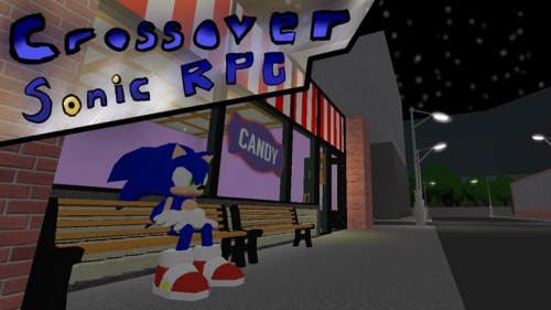 Crossover Sonic 3D RPG *REAL* - игра ROBLOX