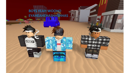 BOYS ONLY NO GIRLS ALLOWED!!!!!!!! - игра ROBLOX