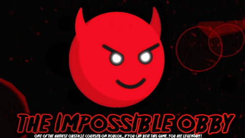 THE IMPOSSIBLE OBBY - игра ROBLOX
