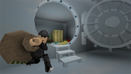 Rob The Bank Obby! - игра ROBLOX
