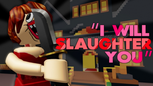 Survive The Red Dress Girl - игра ROBLOX