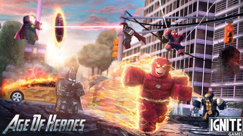 Age of Heroes - игра ROBLOX