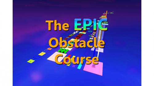 The EPIC Obstacle Course - игра ROBLOX