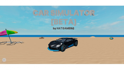 ? Car Simulator[BETA] - игра ROBLOX
