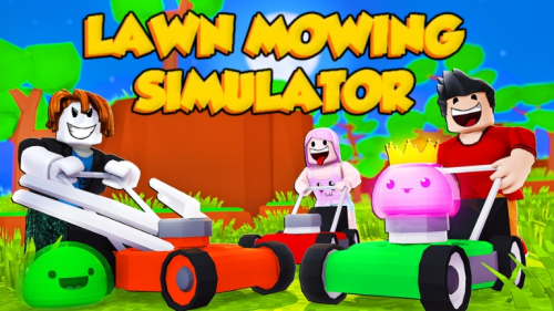 ? HALLOWEEN UPDATE ? ? LAWN MOWING SIMULATOR ⚡ - игра ROBLOX