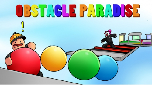 Obstacle Paradise - игра ROBLOX